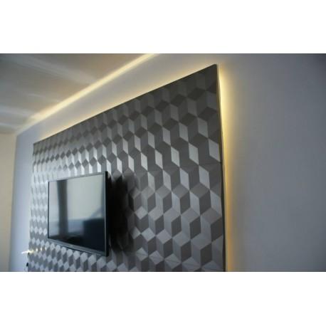 Panel ścienny 3d Via Panels Cube Art Cub Sklep Z Materiałami