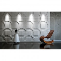 Panele ścienne 3D - Loft Design System - Dekor 05 Round & Square
