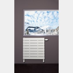 Grzejnik dekoracyjny Niagara pozioma z wkładką termostatyczną 445 x 600mm
