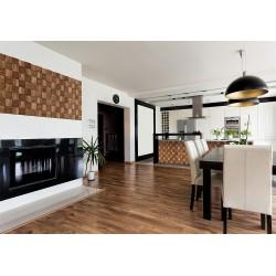 Panele ścienne 3D Drewniane - Stegu Wood Collection - QUADRO 2