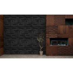 Panel ścienny - ZICARO - AXIAL graphite lava
