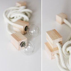 Lampa Double Rope