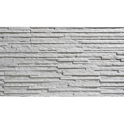 KAMIEŃ DEKORACYJNY PALERMO - WHITE- płytki-  opakowanie 0,62m2 / 8 szt
