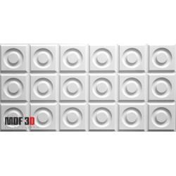 Panel MDF 3D - Apperta -MDF3D 026