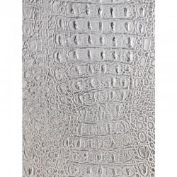SL CROCO SILVER PF MET/SILVER mata dekoracyjna Sibu Design