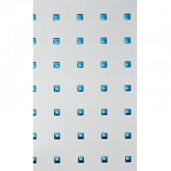 PL 3D Q-10-40-40 SILVER PF met / Blue mata dekoracyjna Sibu Design