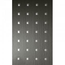 PL 3D Q-10-40-40 SMOKE  PF met touch 1/Silver matt mata dekoracyjna Sibu Design