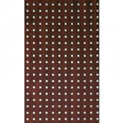 PL 3D Q-5-15-15 Mahogany/Silver mata dekoracyjna Sibu Design