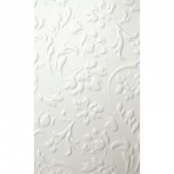 LL Floral White mata dekoracyjna Sibu Design