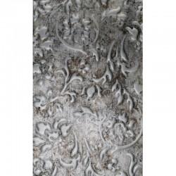 LL Floral Vintage Silver / Silver mata dekoracyjna Sibu Design