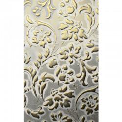 LL Floral White / Gold matt mata dekoracyjna Sibu Design