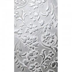 LL Floral White / Silver matt mata dekoracyjna Sibu Design