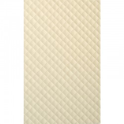 LL Rombo 12 Creme matt  mata dekoracyjna Sibu Design