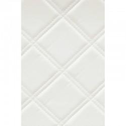 LL Rombo 85 Bianco matt  mata dekoracyjna Sibu Design