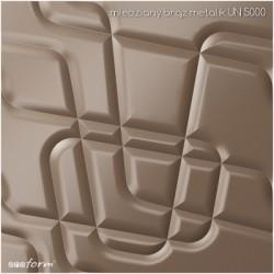 PANEL 3D MODULOWALL MAZE BIAŁY MAT UN2065