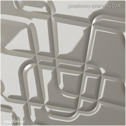 PANEL 3D MODULOWALL MAZE ZIELONY POŁYSK HG6450