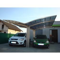 """Carport Design - Portoforte 150 wykonanie """"Y"""", podwójne"""