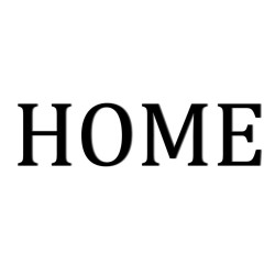Napis na ścianę 3D HOME DekoSign