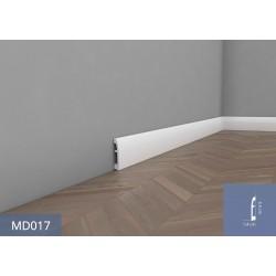 Listwa przypodłogowa - model MD17A - 1,4x7,1x200cm